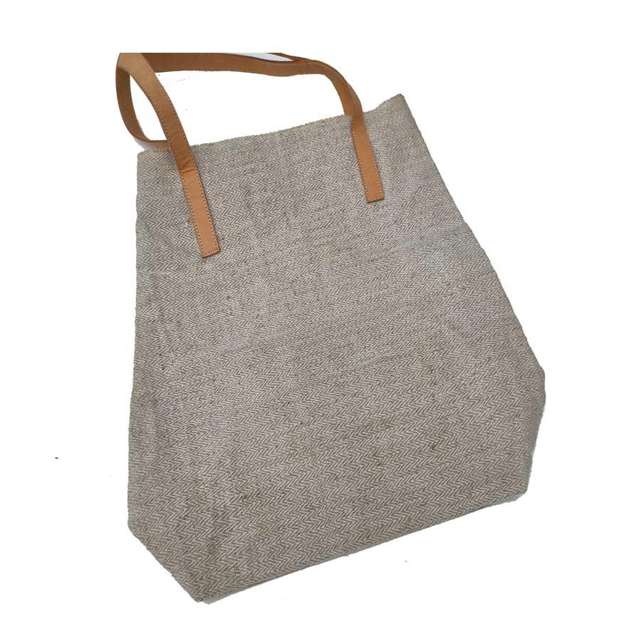 Grey Shopping Bag